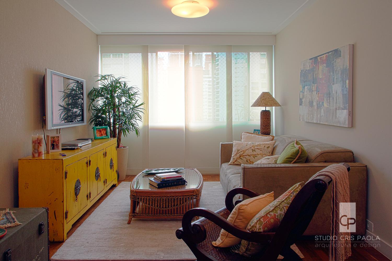 sala de estar - rustico