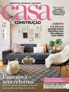 Na mídia: revista casa e construção