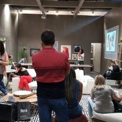 Talk Cris Paola na Expo Revestir 2019