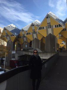 Destino de hoje: a holandes-O Markthal ou Market Hall a Rotterdam- Casas Cubo