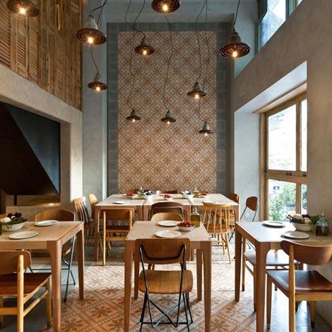 Pizzaria com design incrível Atenas