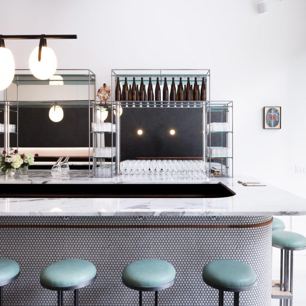 Pizzaria com design incrível Nova York