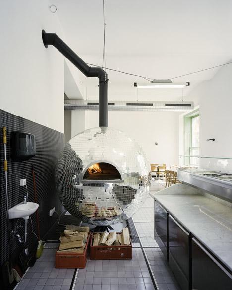 Pizzaria com design incrível Viena