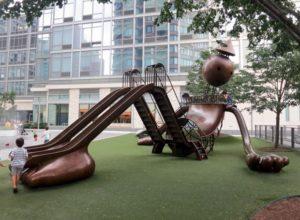 Nova Iorque- Silver Tower Playground