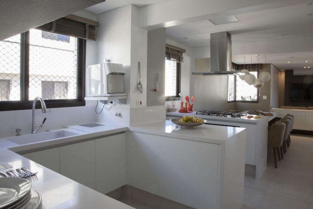 Ambientes Integrados- Projeto Brooklin Cozinha