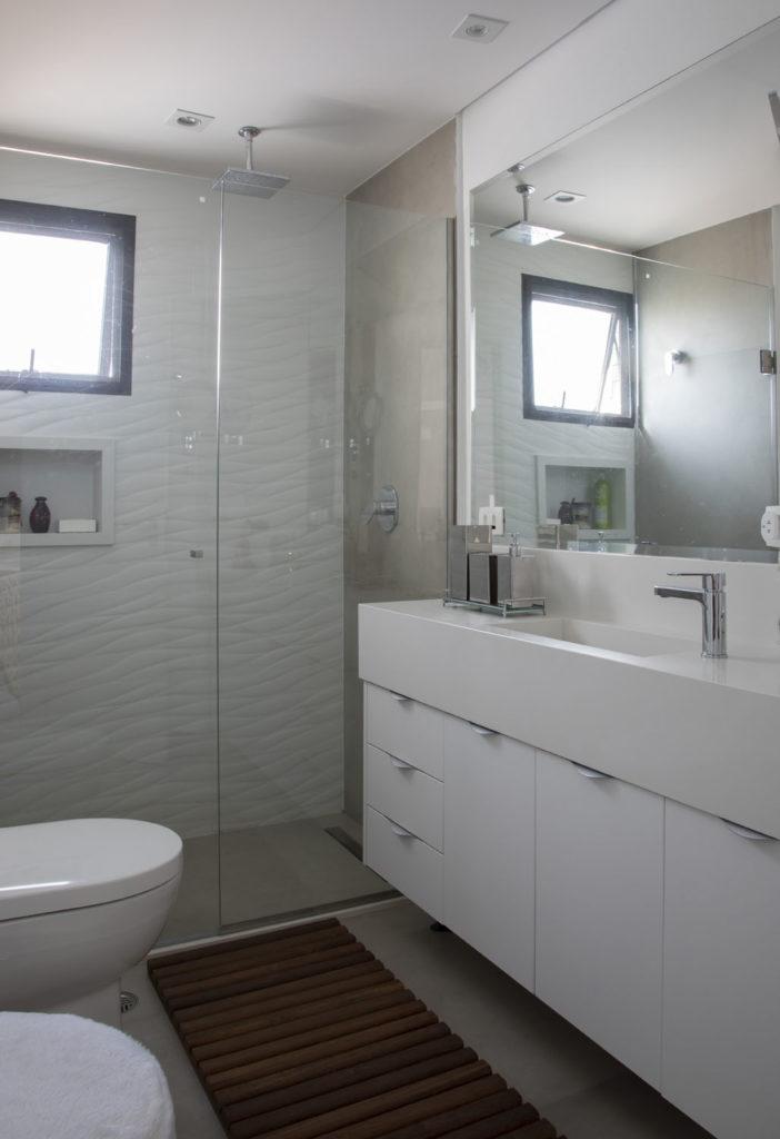 Ambientes Integrados- Projeto Brooklin Banheiro Senhora