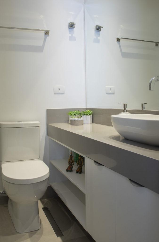 Ambientes Integrados- Projeto Brooklin Banheiro Senhor