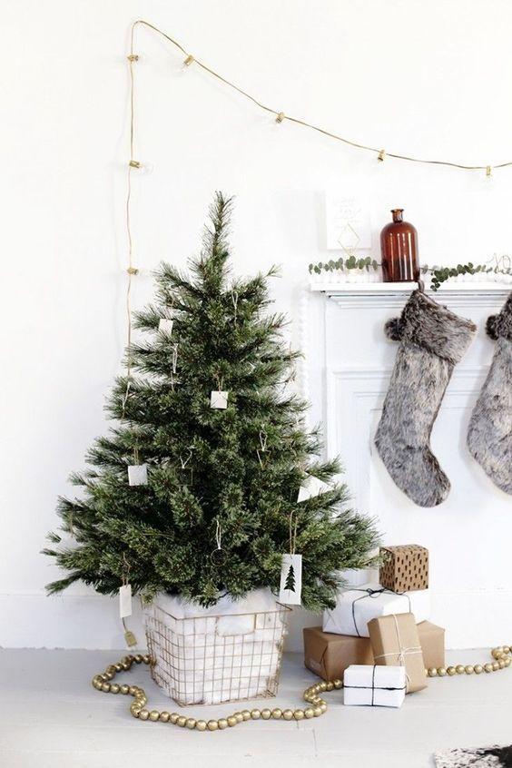 dicas natalinas : Decoracao natalina escandinava