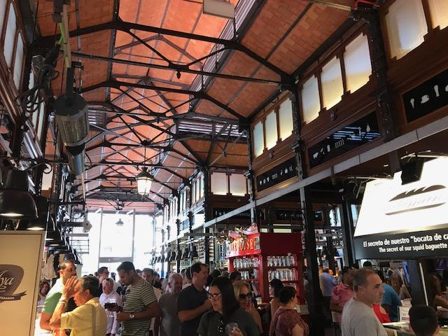 Parte interno do Mercado de San Miguel