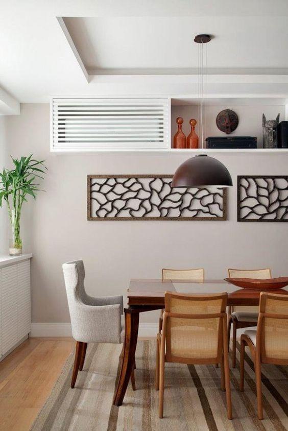 ar condicionada na sala para decoração no verão