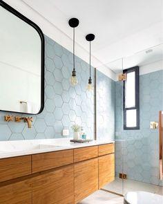 banheiro azul -dicas de feng shui