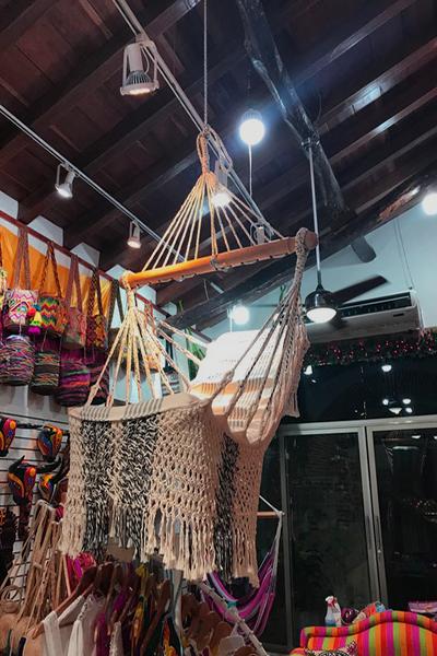 Loja de artesanato em Cartagena