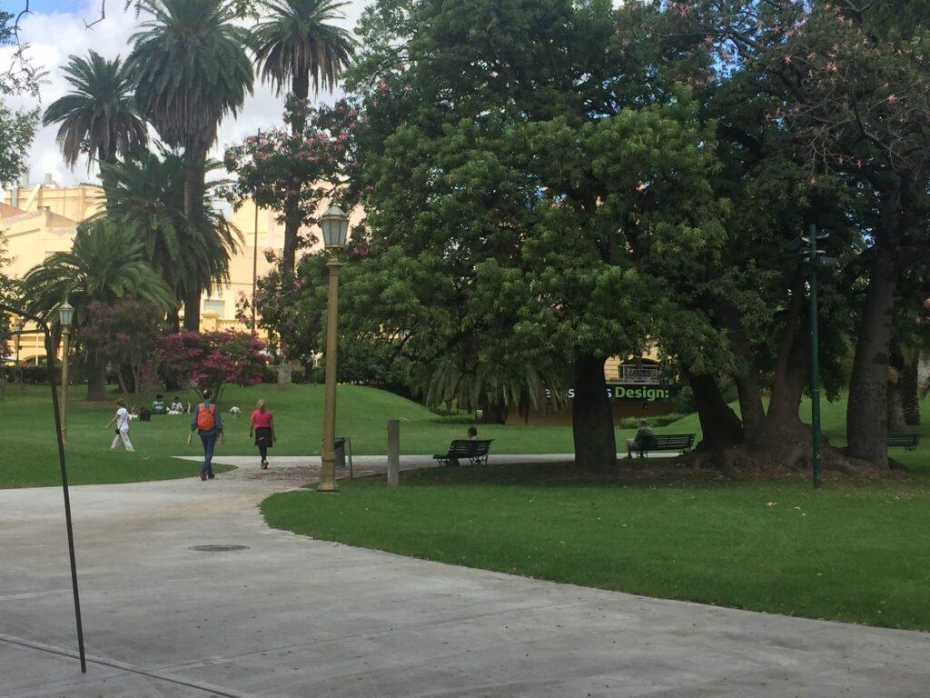parque em buenos aires