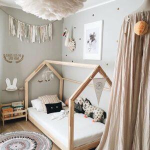 quarto de criança montessoriano