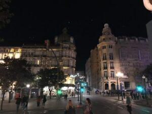 cidade do Porto à noite