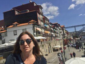selfie da Karina Korn em Porto