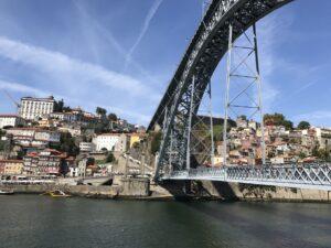 ponte luiz I em Porto
