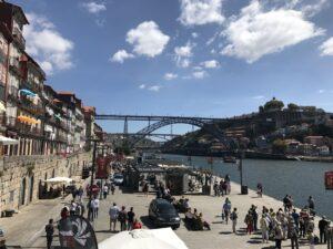 ponte luiz I no centro de Porto