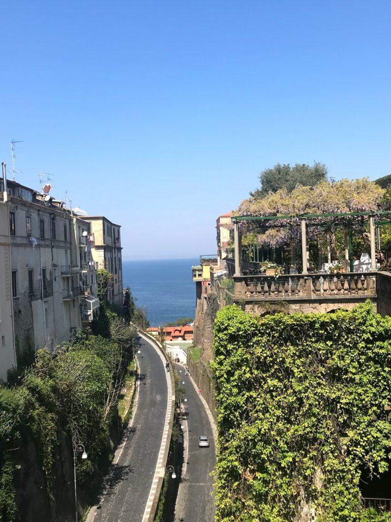 estradas na costa amalfitana