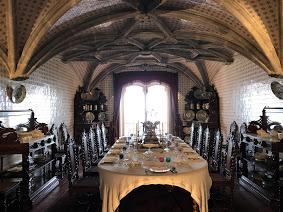Interior do Castelo em Sintra