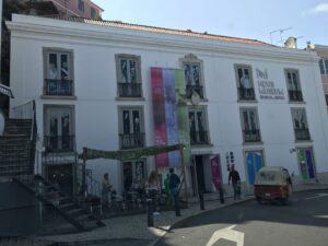 Detalhes da arquitetura em Sintra