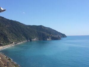 Mar Azul em Cinque Terre