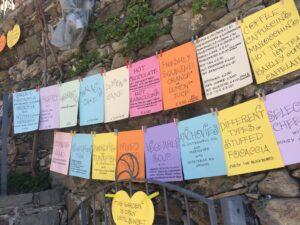 Frases de inspiração em Cinque Terre
