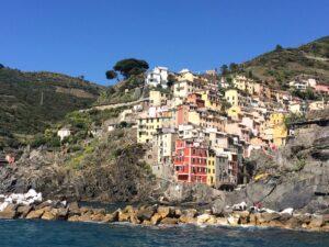 casas coloridas em Cinque Terre