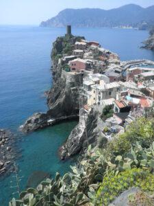 Vista de Cinque Terre
