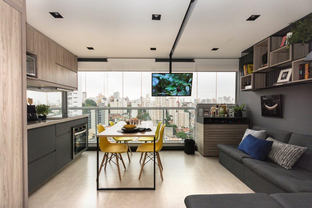 apartamento pequeno de 34 m²