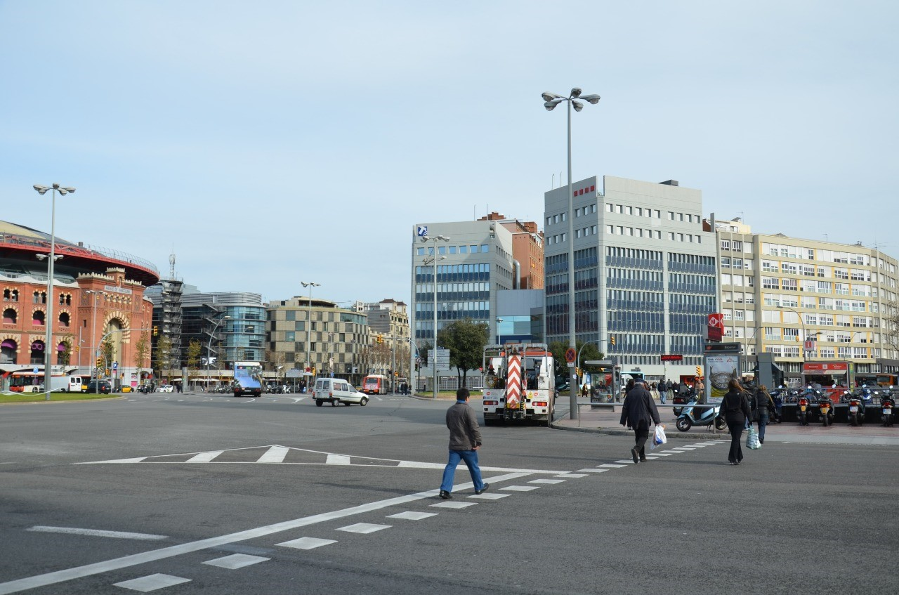 Foto do centro de Barcelona