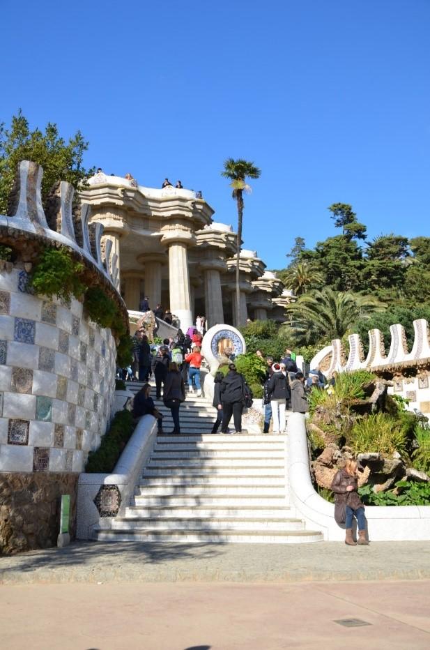 Park Guell em Barcelona