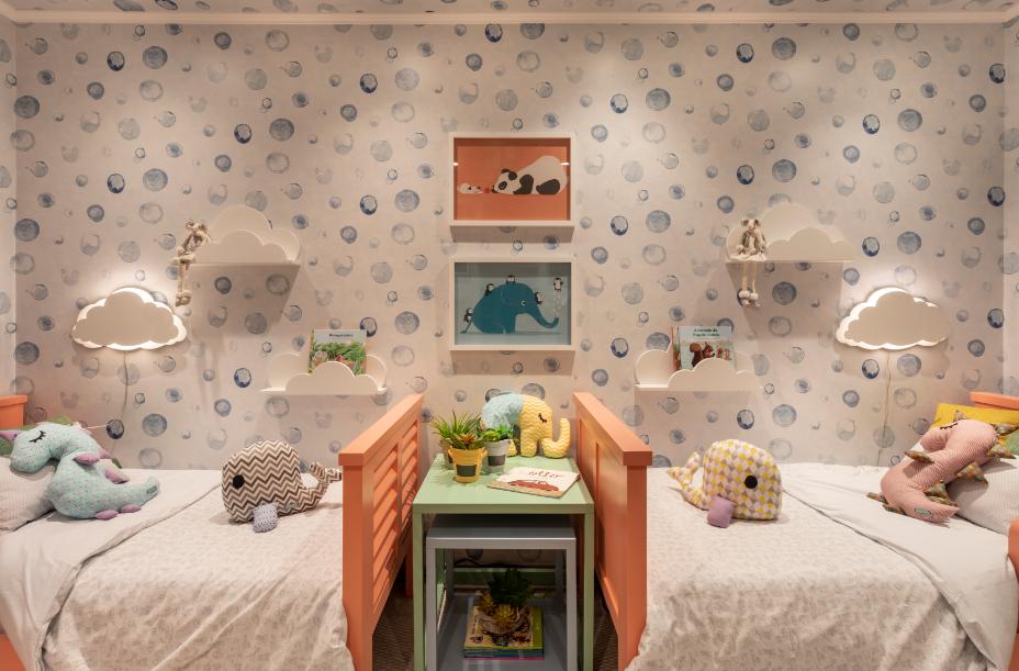 quarto colorido infantil