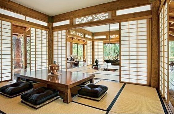 Sala decoração japonesa