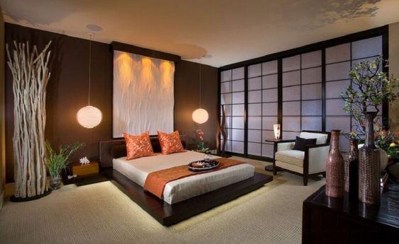 quarto casal - decoração japonesaa