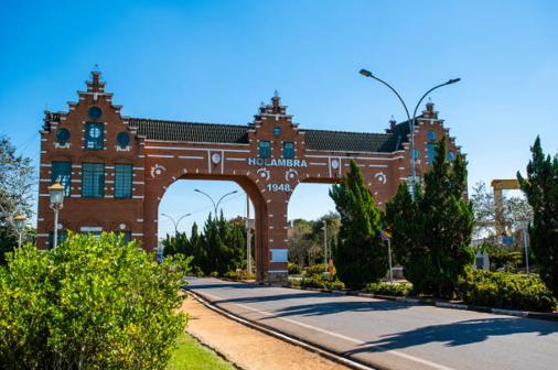 entrada de Holambra