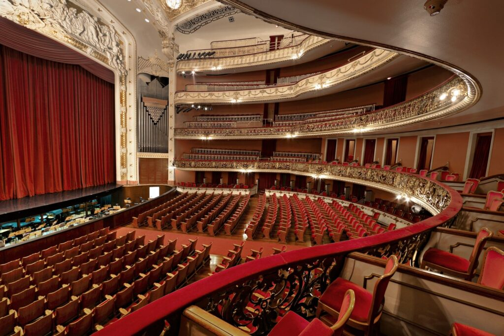 Interior do Teatro Bolshoi